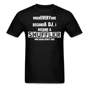ReVolt: Shuffler (Back: Blank) - Men's T-Shirt