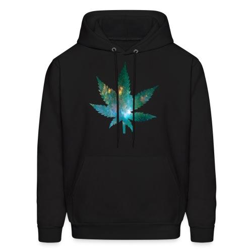 Galaxy Weed Sweatshirt Men - Men's Hoodie