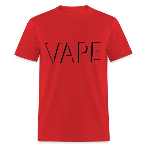 VAPE - Blk Logo - Men's T-Shirt