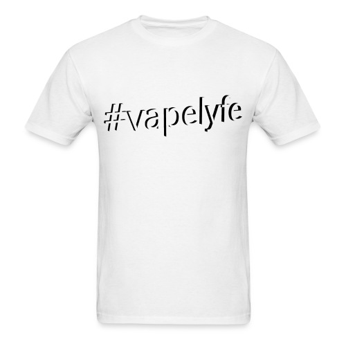#Vapelyfe - Blk Logo - Men's T-Shirt