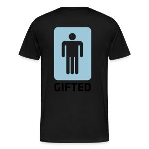 gifted man - Men's Premium T-Shirt