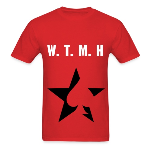 Men's T-Shirt - W.T.M.H stands for where the magic happens.  Where the magic happens is a 8 week YouTube show with me and my good friend Garnett , catch all the episodes on YouTube : murcianomagic
