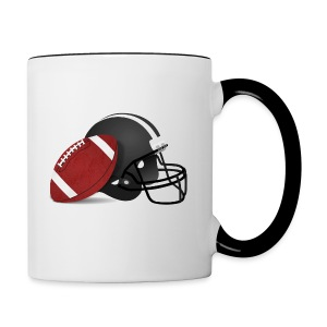 Football - Contrast Coffee Mug