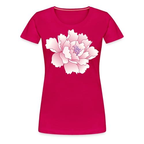 Japanese Peony Tee - Women's Premium T-Shirt