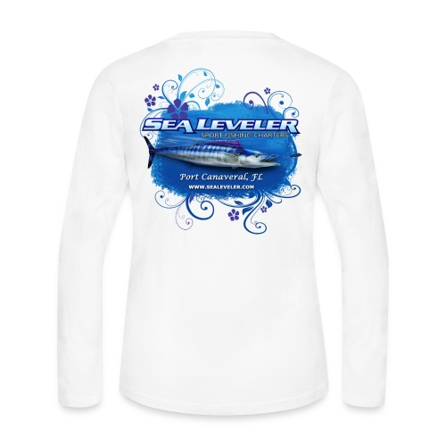 Women's Long Sleeve T-Shirt - Women's Long Sleeve Jersey T-Shirt