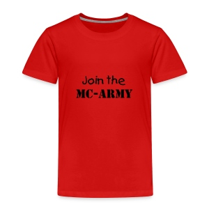 Mc Army - Toddler Premium T-Shirt
