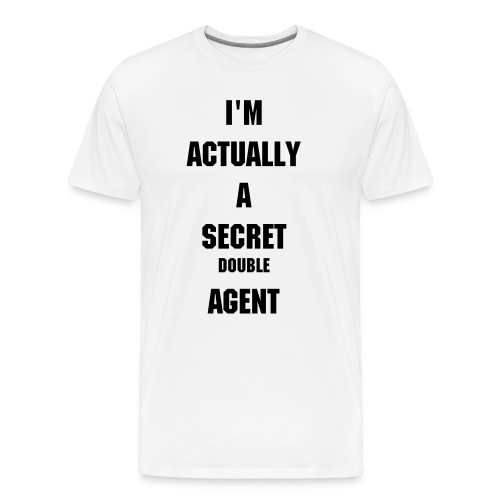 Secret Double Agent - Men's Premium T-Shirt