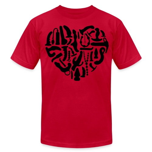 Toy Heartz - Men's Fine Jersey T-Shirt