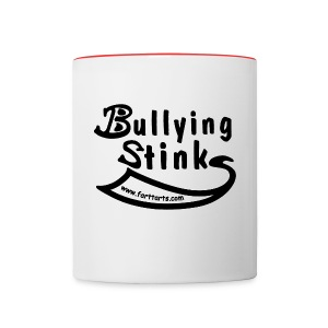 Bullying Stinks mug - Contrast Coffee Mug