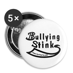 Bullying Stinks pin - Large Buttons