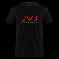 T-Shirts ~ Men's T-Shirt ~ Joe Vitale Jr JVJ Concert T-Shirt (Dark Matter Black)