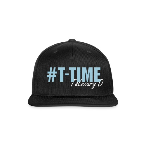 #T-TIME - Snap-back Baseball Cap