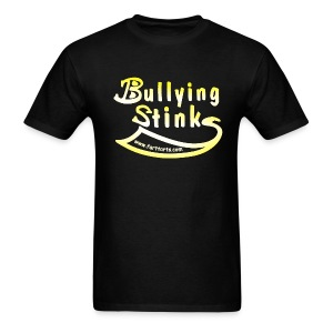 Men's Bullying Stinks, colored text - Men's T-Shirt