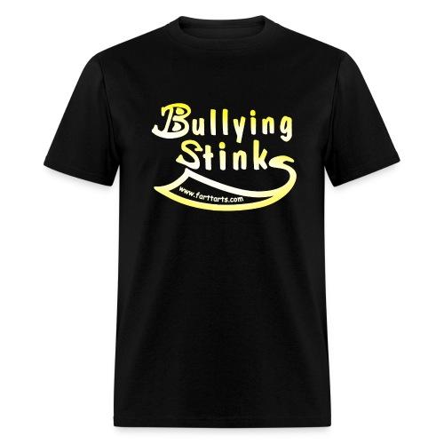 Men's Bullying Stinks, colored text - Men's T-Shirt