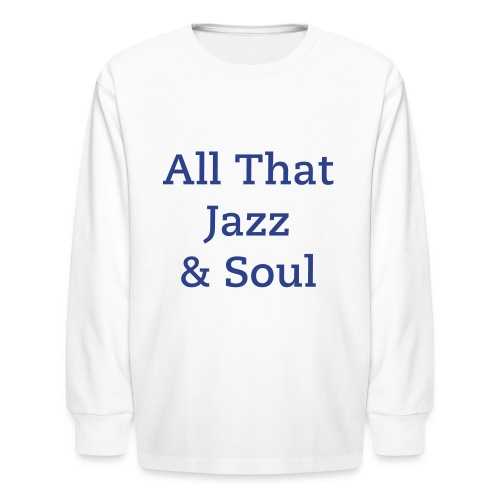 Alfonzo Blackwell Children's Long Sleeve T-Shirt - Kids' Long Sleeve T-Shirt
