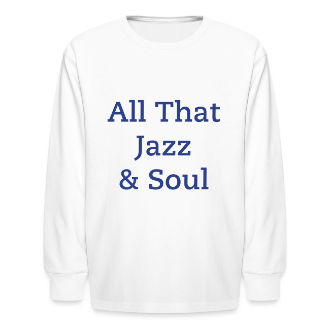 Alfonzo Blackwell Children's Long Sleeve T-Shirt