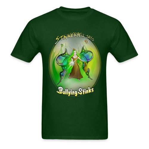 Men's Stinkerbell says Bullying Stinks - Men's T-Shirt