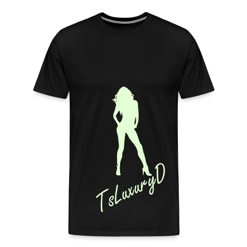 SILHOUETTE (GLOW IN THE DARK)  - Men's Premium T-Shirt