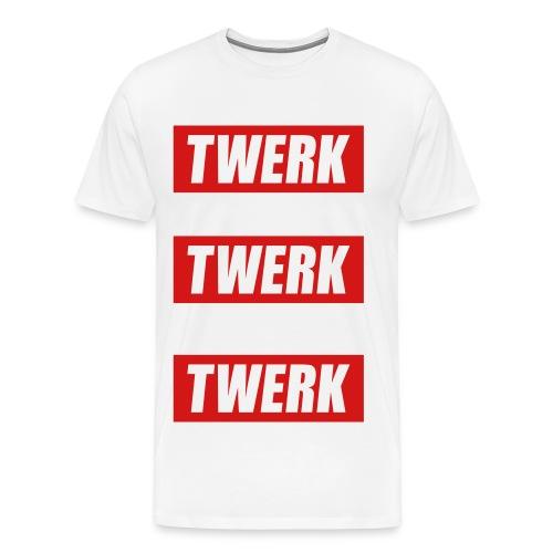#twerk - Men's Premium T-Shirt