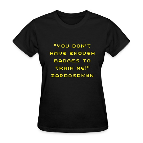 Badges Shirt - Women's T-Shirt