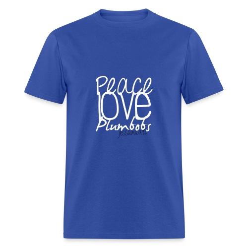 Peace Love Plumbobs - Men's T-Shirt