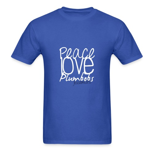 Peace Love Plumbobs - Men's T-Shirt