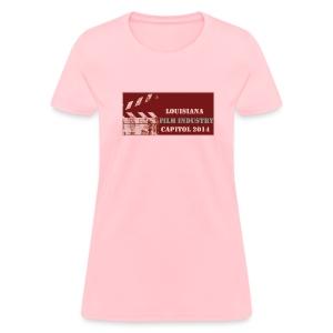Louisiana Film Industry 2014 LSU Saints - Women's T-Shirt