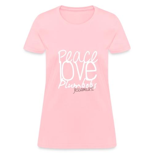 Peace Love Plumbobs - Women's T-Shirt