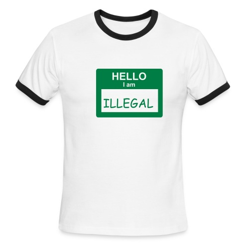 Caló I'm Illegal - Men's Ringer T-Shirt