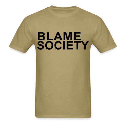 Men's Blame Society T-Shirt - Men's T-Shirt
