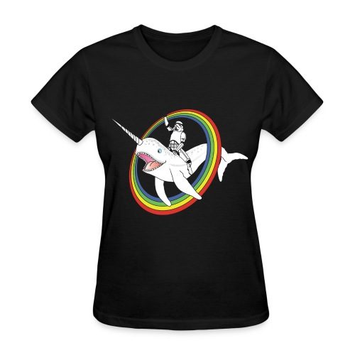 Women's Storm Trooper Narwhale T-Shirt - Women's T-Shirt