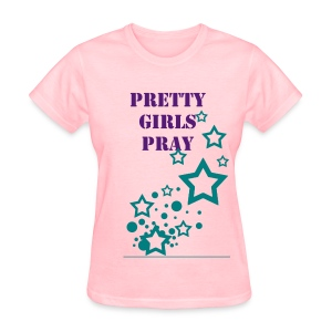 Praying Girls - Women's T-Shirt