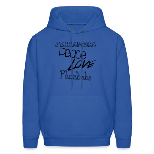 Peace Love Plumbobs Sweatshirt - Men's Hoodie