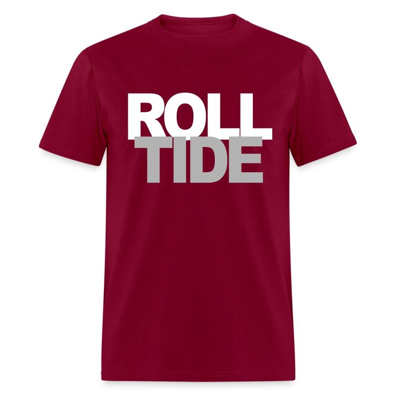 Roll tide alabama crimson t shirt spreadshirt for Alabama crimson tide polo shirts