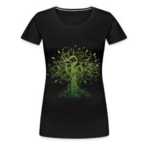 Women's Premium T-Shirt - tree of life shirt,peace shirt,hippy shirt,Yoga shirt