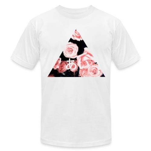 floral ai pixel - Men's  Jersey T-Shirt