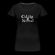 T-Shirts ~ Women's Premium T-Shirt ~ Oddly Normal Logo Women's Tee
