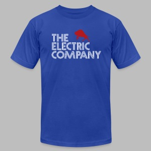 The Electric Company - Men's T-Shirt by American Apparel