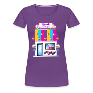 candy shop womens shirt - Women's Premium T-Shirt
