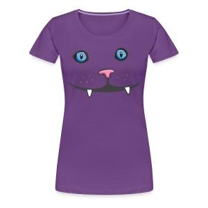 kitty womens shirt - Women's Premium T-Shirt