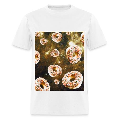 Falling Donuts T-Shirt - Men's T-Shirt