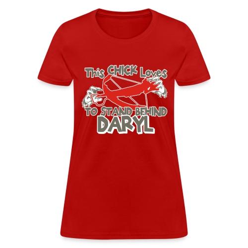 This Girl Loves Daryl - Women's T-Shirt