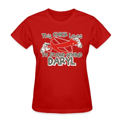 This Girl Loves Daryl - Women's T-Shirt