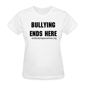 Women's T-Shirt - bullying,anti bullying
