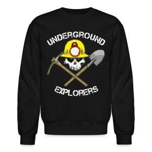 Underground Explorers Big Logo Sweatshirt - Crewneck Sweatshirt