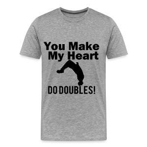 Do Doubles T-shirt - Men's Premium T-Shirt