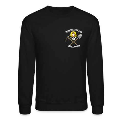 Underground Explorers Black Sweatshirt - Crewneck Sweatshirt