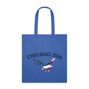 Chicago USA Eagle - Tote Bag