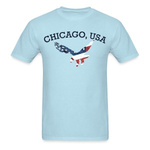 Chicago USA Eagle - Men's T-Shirt