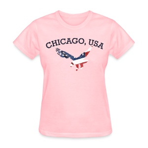 Chicago USA Eagle - Women's T-Shirt